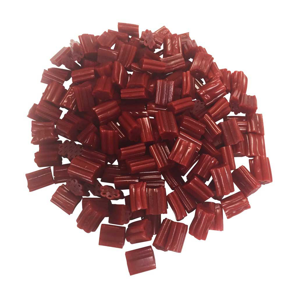 Vasilow's Cherry Nibs Licorice made in the USA