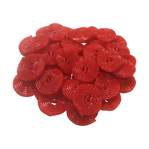 Vasilow's Strawberry Licorice Wheels from Germany