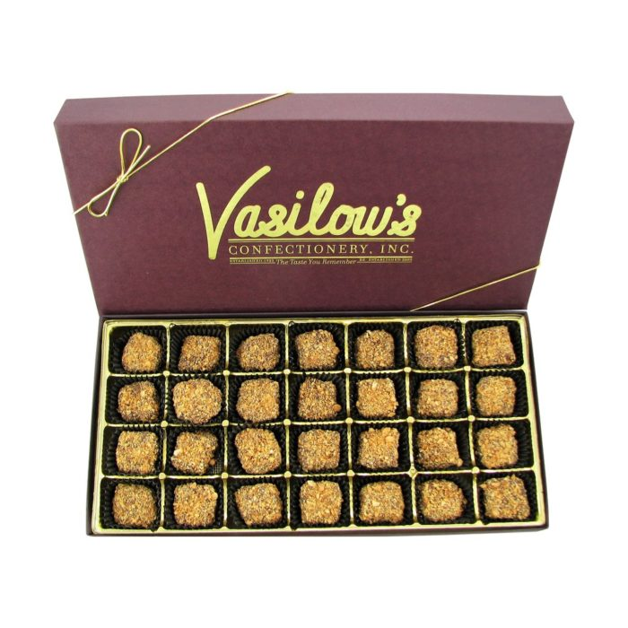 Vasilow's 28 count Almond Butter Crunch Gift Box
