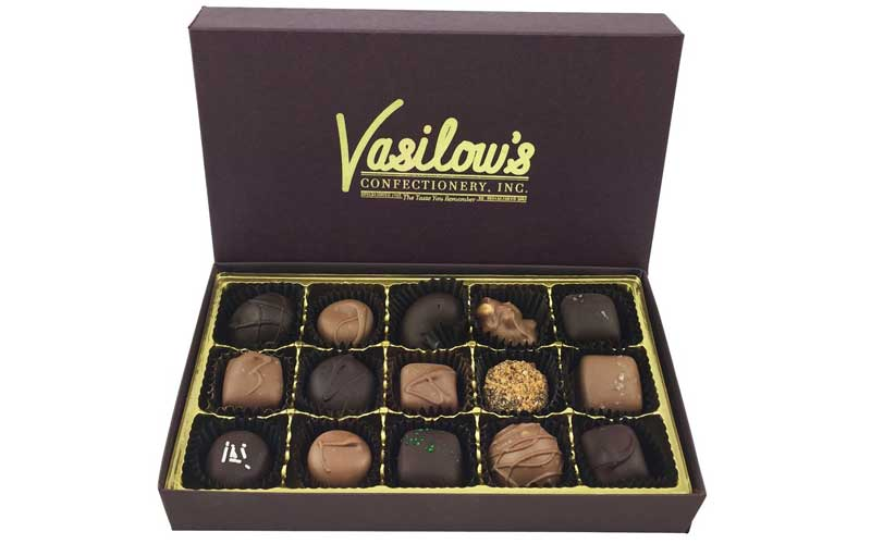 Vasilow's 15 piece Sampler Gift Box