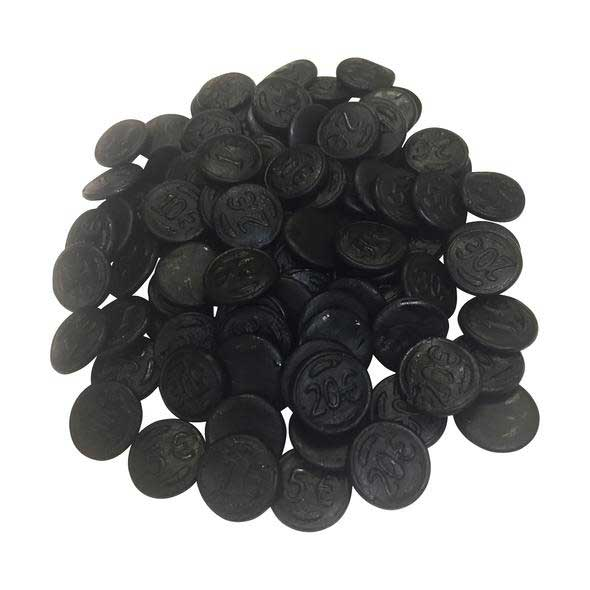 Vasilow's Dutch Licorice Coins from Holland