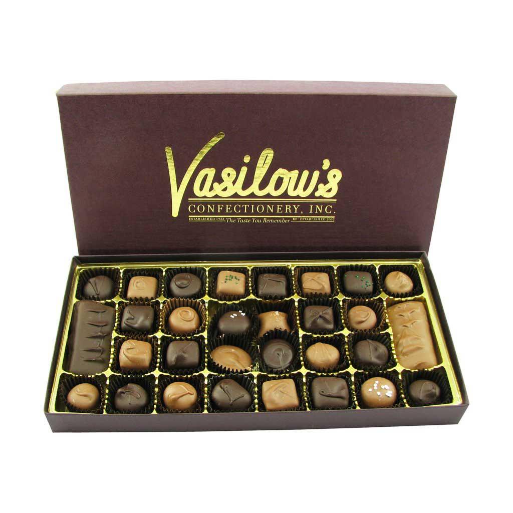 Vasilow's One Pound Homemade Chocolates Assortment