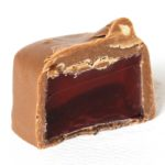 Raspberry Filled homemade chocolate candy by Vasilow's of Hudson NY