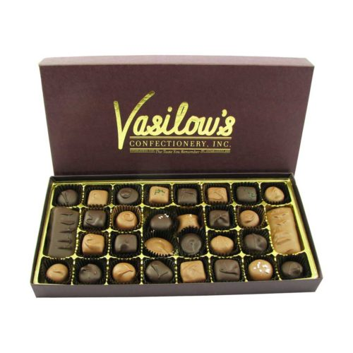 Vasilow's Two Pound Homemade Chocolates Assortment